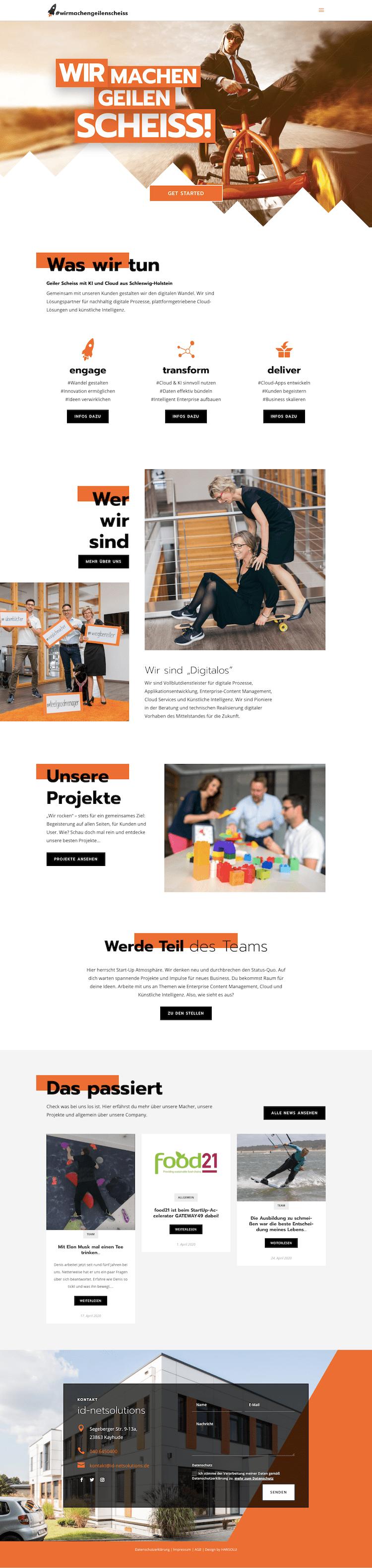 Webdesign für Fachkräfte-Marketing