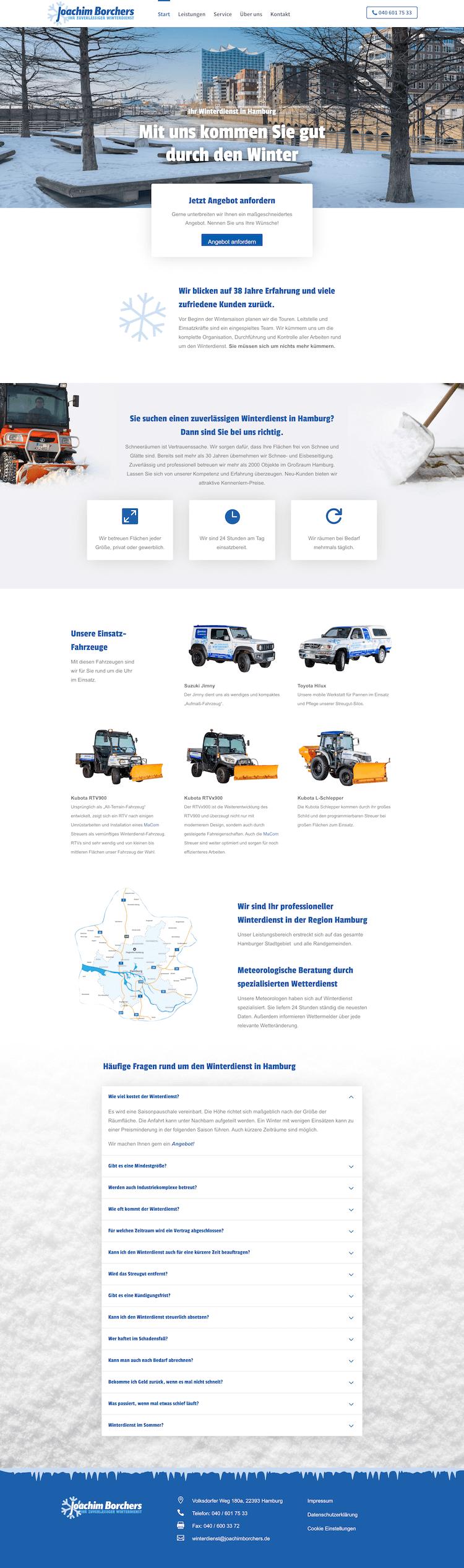 Webdesign für Fachbetrieb