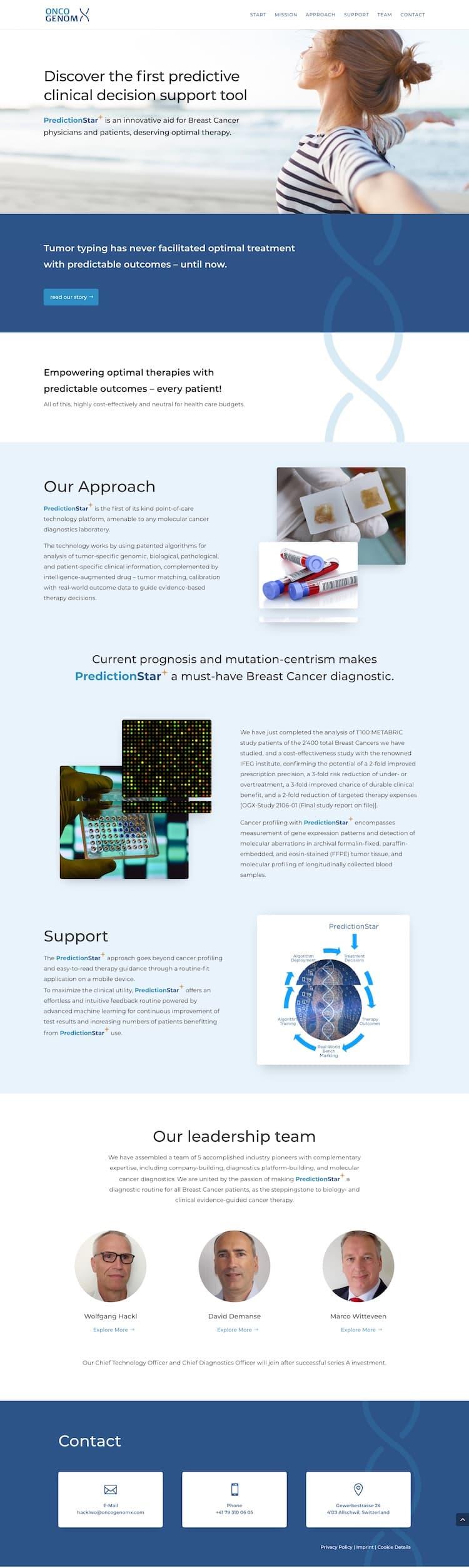 Webdesign für Start-up